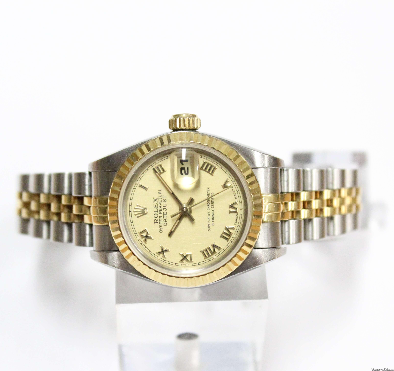 1996 Ladies Rolex Datejust Automatic Watch