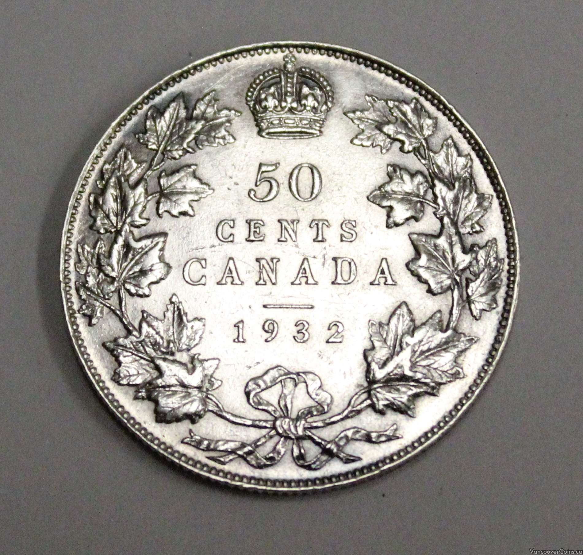 1956 ~ CANADA ~ 50 CENTS ~ ELIZABETH II ~ VF20 Condition