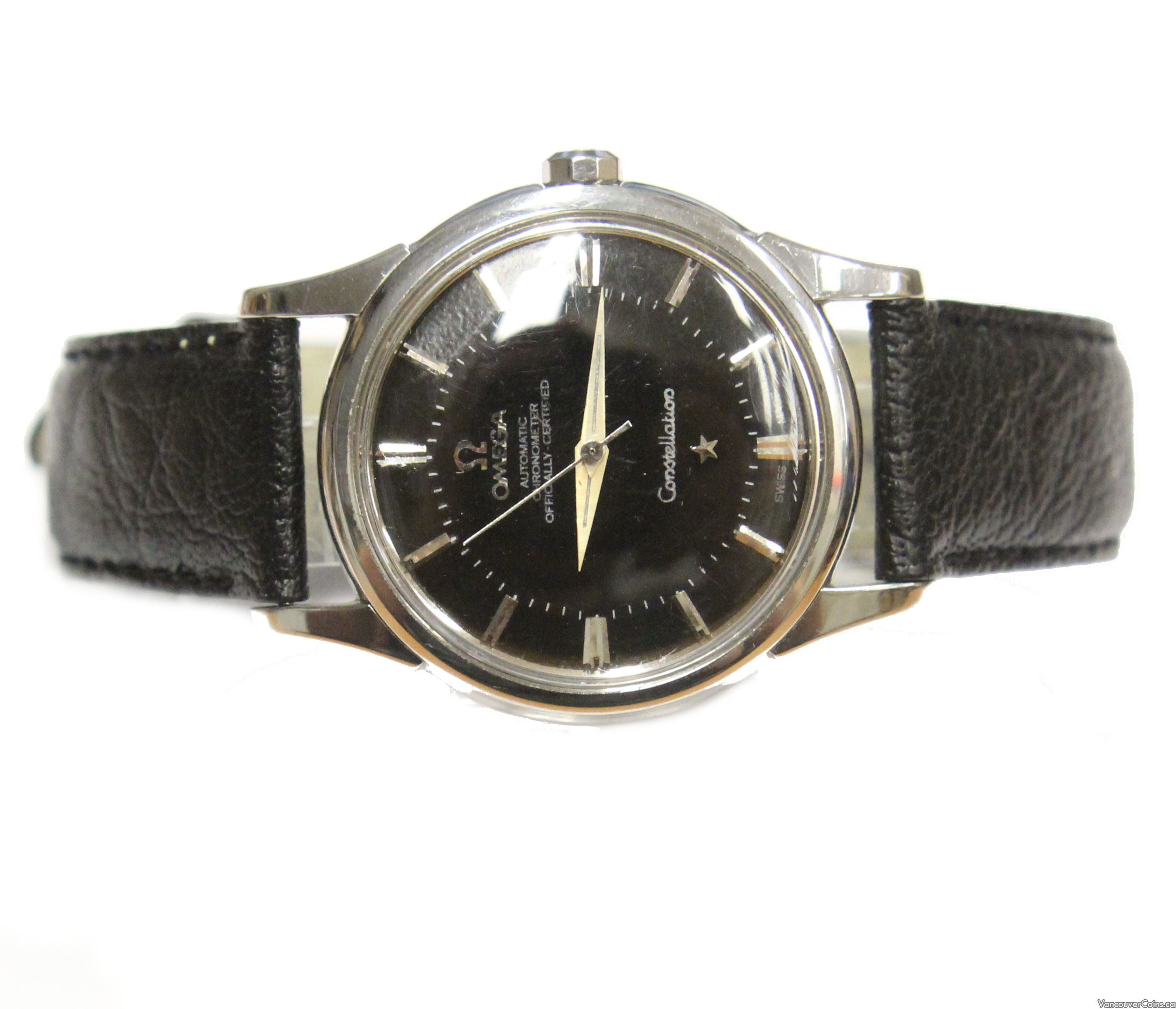 1961 Omega Constellation pie pan 551 automatic 14381 61 SC