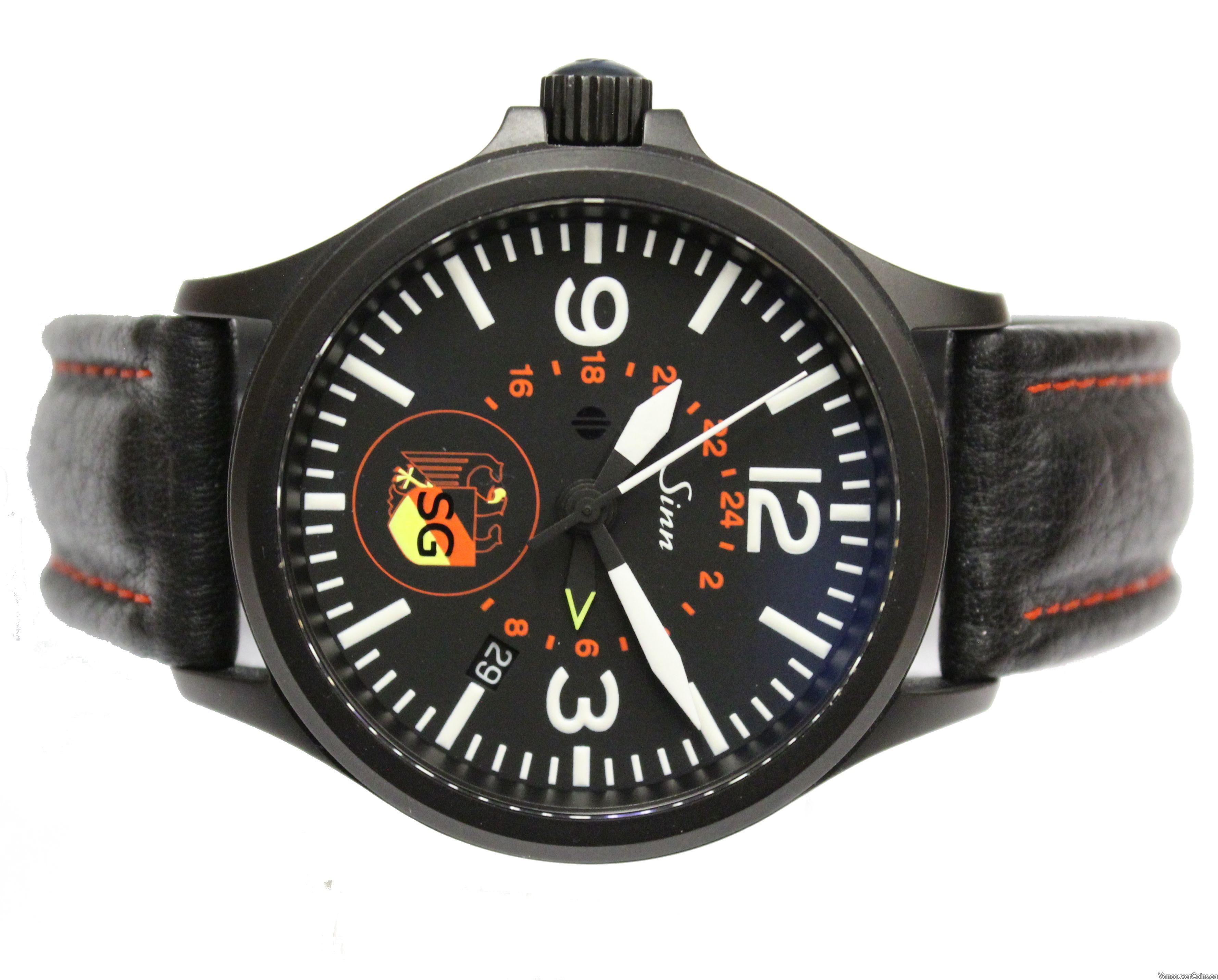 Sinn 856 S BKA/SG UTC Automatic Left Hand Watch