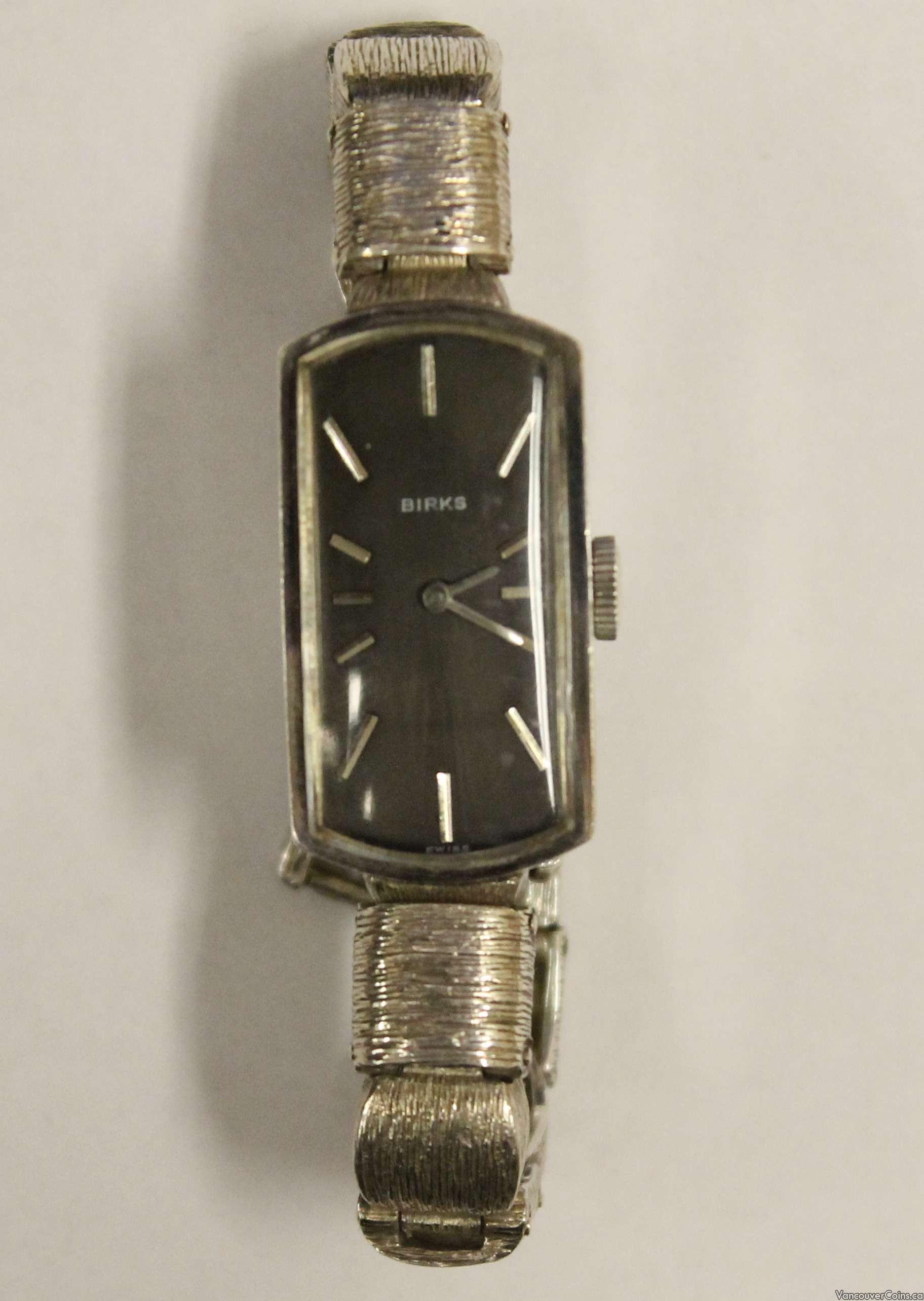vintage birks sterling silver wrist band