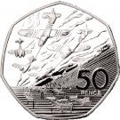 1994 Great Britain 50 Pence 50th Anniversary of the D-Day Landings
