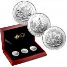 2015 Canada $5 Cornelius Krieghoff 200th Anniversary 3 coin Set