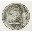 LC-48B1 imitation Tiffin token lower Canada 1812 half penny