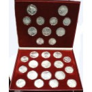 1980 Moscow Olympics .900 silver 28 coin set