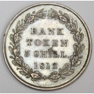 1812 Bank Token 3 shilling Great Britain AU50+