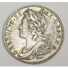 1739 6 pence Great Britain roses R VF25