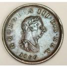 1806 Great Britain half penny VF30
