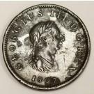 1807 Great Britain half penny VF30