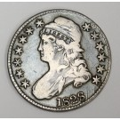 1828 Capped Bust Half Dollar  VF25