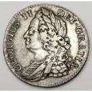 1743 shilling Great Britain S3702 EF40
