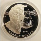 1995 Canada 325th Anniversary Hudson Proof Silver Dollar