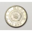 1909 Year M42 Japan 10 Sen silver coin AU50+
