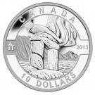 2013 $10 O Canada Series - Inukshuk