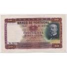 1938 Portugal 50 Escudos VF30+ Pick#149 (76)