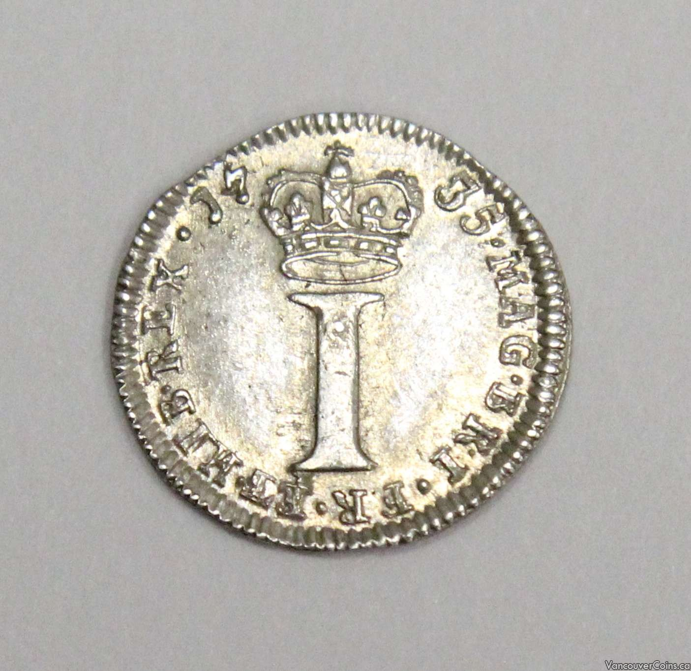 1735 Britain One Pence AU