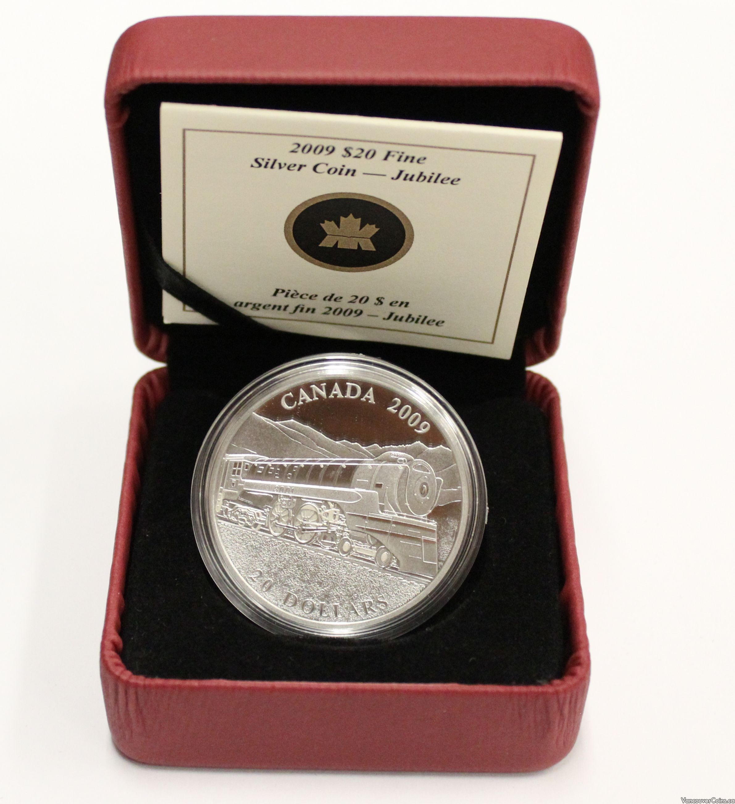 2002 CANADA GOLDEN JUBILEE PROOF SILVER DOLLAR HEAVY CAMEO COIN