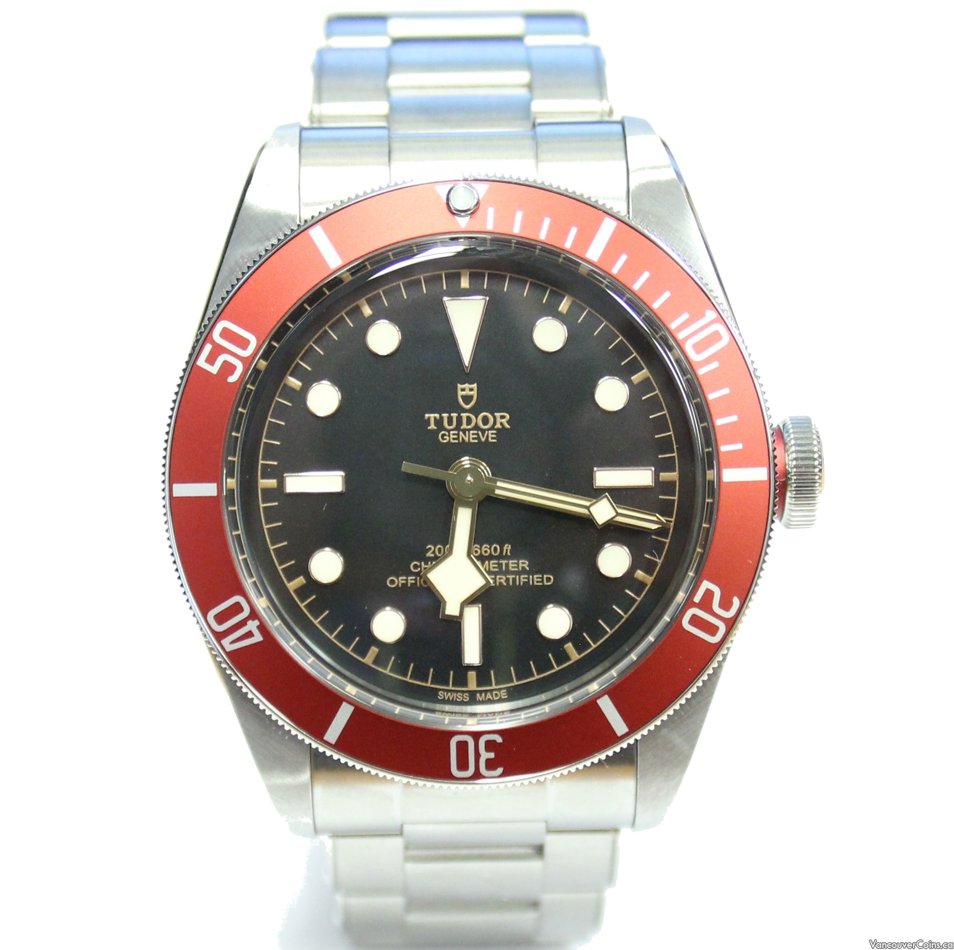 Tudor Black Bay Heritage Automatic Stainless Steel Mens Watch