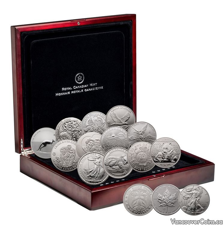 2012 Royal Canadian Mint The Fabulous 15 coin set
