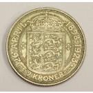 1923 Denmark 2 Kroner EF40+