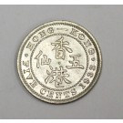1933 Hong Kong Five 5 Cents Choice Uncirculated MS63+