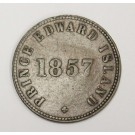 Prince Edward Island 1857 Self Government and Free Trade token VF20