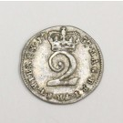 1737 two pence silver 2d S3714A George II   F15