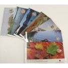 2005 Sealed Royal Canadian Mint Canada First Day Issue Coin Complete Set