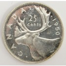 1950 Canada 25 cents MS64