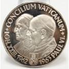 1963 Argenteus III Ducat silver CONCILIUM VATICANUM Werner Graul