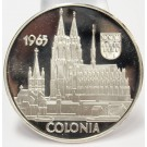 1965 Argenteus III Ducat silver coin COLONIA by Werner Graul
