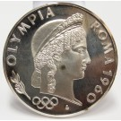 1960 Argenteus III Ducat silver coin OLYMPIA ROMA by Werner Graul