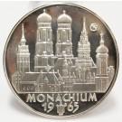 1965 Argenteus III Ducat silver coin MONACHIUM by Werner Graul