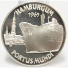 1965 Argenteus III Ducat silver coin HAMBURGUM by Werner Graul