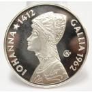 1962 Argenteus III Ducat silver coin JOHANNA GALLIA Werner Graul