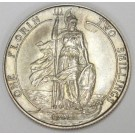1902 Great Britain Florin 2 Shillings silver coin PRF63