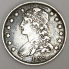 1835 Capped Bust Quarter 25c EF40