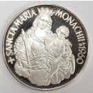 1960 Argenteus I Ducat silver SANCTA MARIA MONACHII