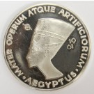 1961 Argenteus I Ducat silver AEGYPTUS NEFERTITI Werner Graul Choice Proof