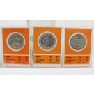 3x 1969 Franklin Mint $1 Proof Gaming Tokens