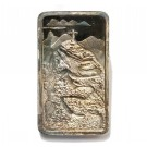 .999 1000 grains silver bar Corcovado Statue of Christ s#43 J.Cartier Mint 1974