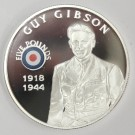 2008 St Helena & Ascension £5 coin .925 silver RAF GUY GIBSON