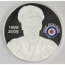2008 St Helena & Ascension £5 coin .925 silver RAF RAY HANNA