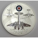 2008 St Helena & Ascension £5 coin .925 silver RAF MOSQUITO