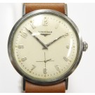 Longines 1200 Vintage Mens Stainless Steel Swiss Watch
