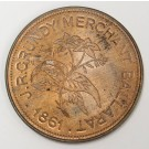 Australia Melbourne JR Grundy Merchant 1861 Token