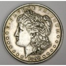 1890 S Morgan dollar variety EF45