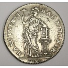 1763 Netherlands West Friesland 3 Gulden silver coin VF30