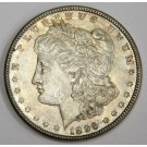 1896 Morgan silver dollar MS63