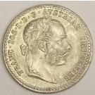 1871 Austria 10 Kreuzer silver coin KM2206 MS63